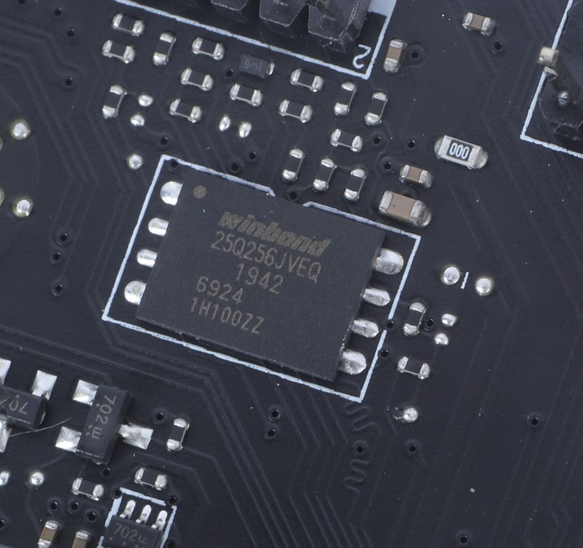 為了支援最多功能,Intel Z490 一般採用 256Mb BIOS,是上一代產品 128Mb BIOS 的 2X 容量。