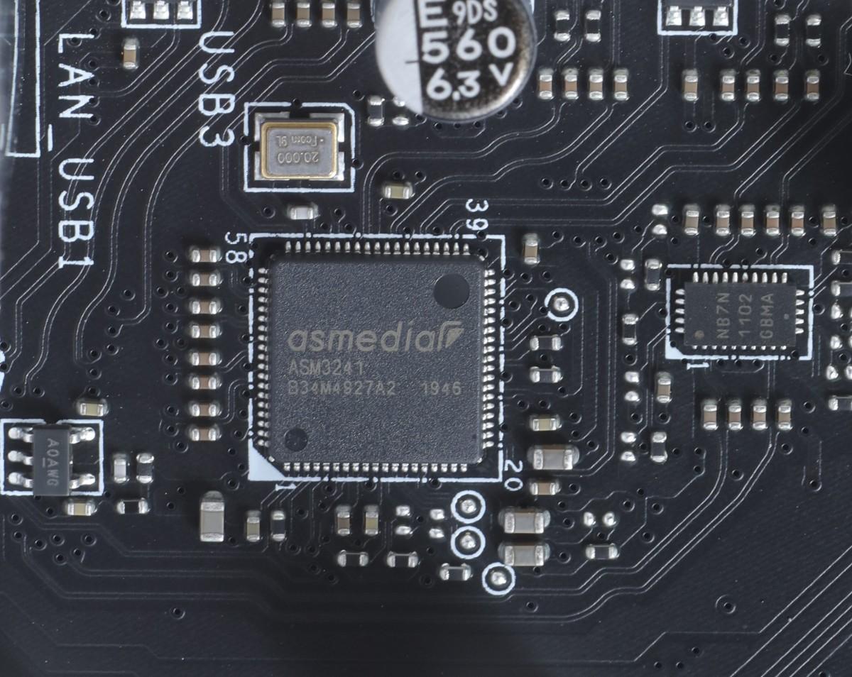 特別外加 ASMedia ASM3241 USB 20Gbps 控制晶片