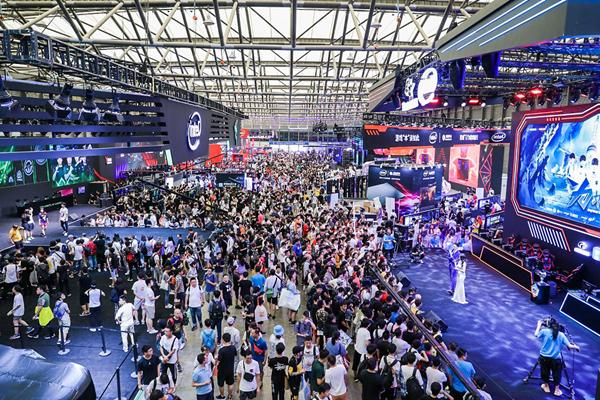 ChinaJoy 是中國年度最大遊戲展,每年都吸引大量人流到場(圖片來源:ChinaJoy )