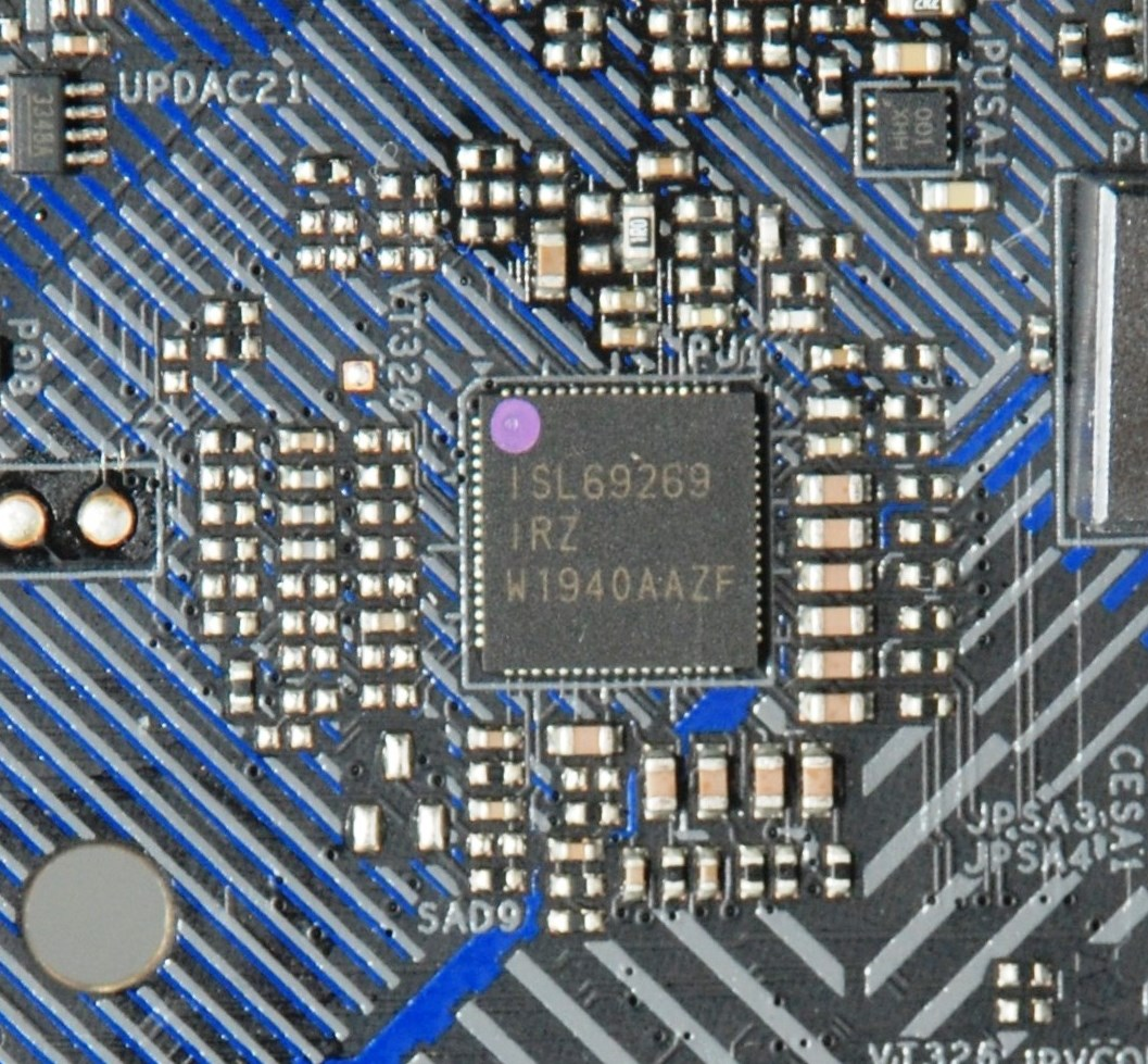 採用 Renesas ISL69269 PWM 晶片