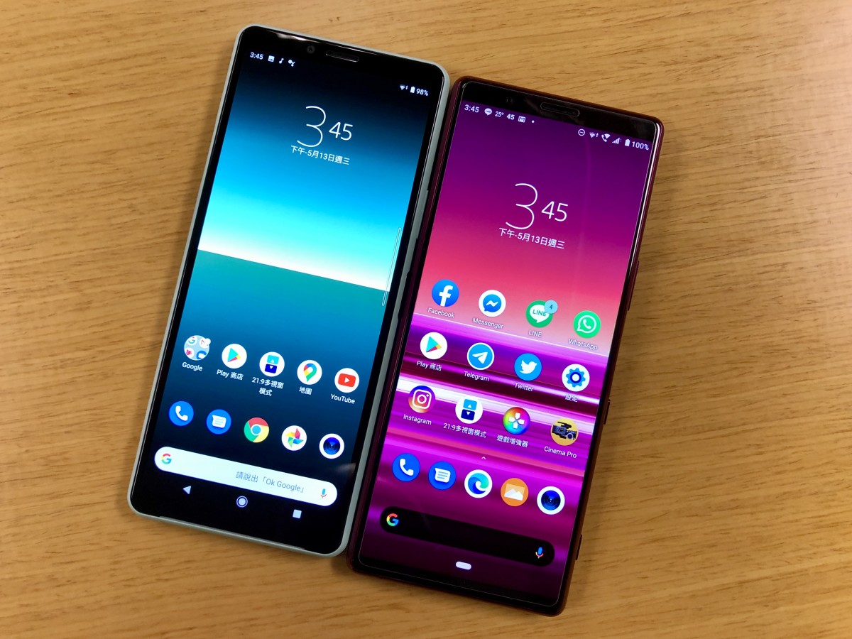 Xperia 10 II and Xperia 5