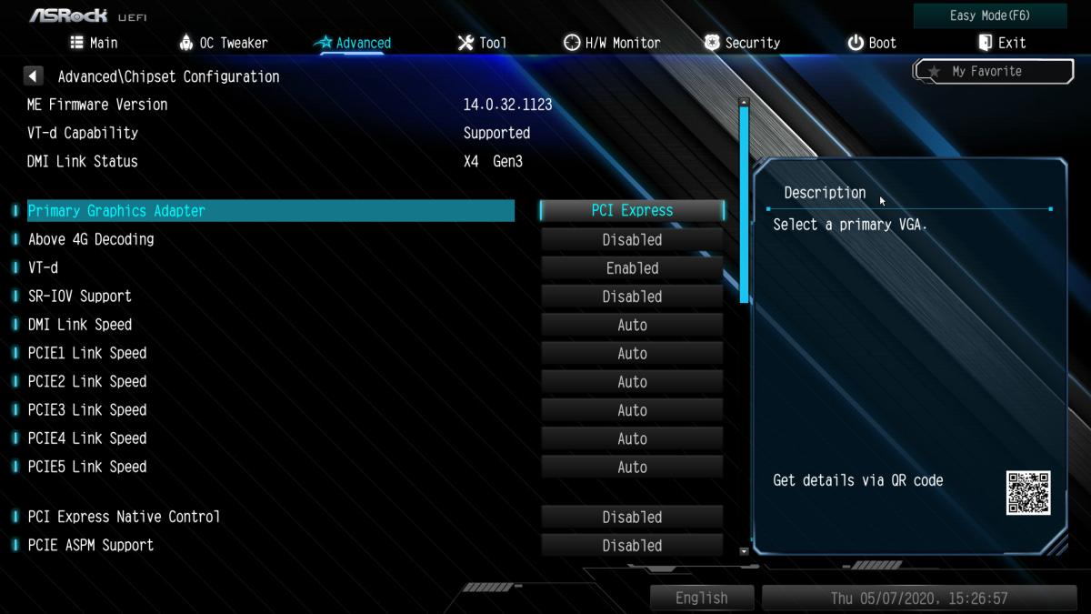 Intel Z490 晶片組己採用 Version 14 以上的ME Firmware,比 Z390的 Version 12 新。