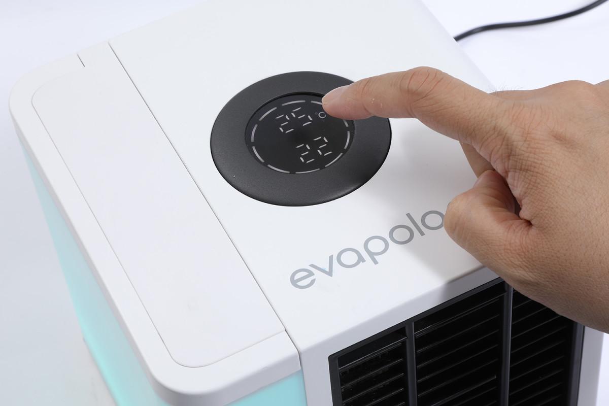 機頂的轉盤操控一轉一Click,即可選擇不同風速或模式。