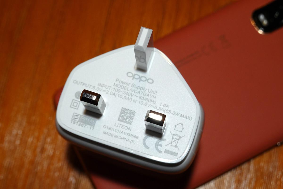最高可支援10V 6.5A 65W,當然要配合原裝充電線才可有以上效果。