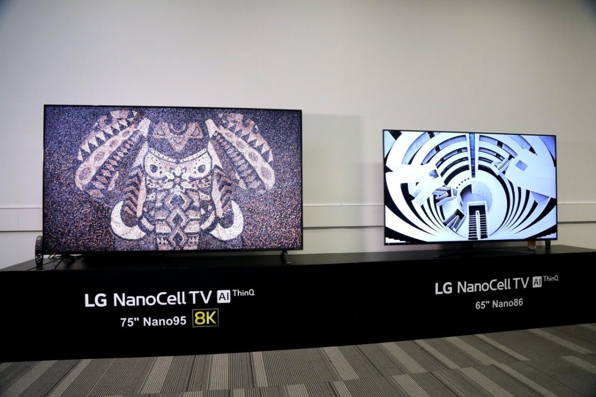 LG NanoTV 8K 2020