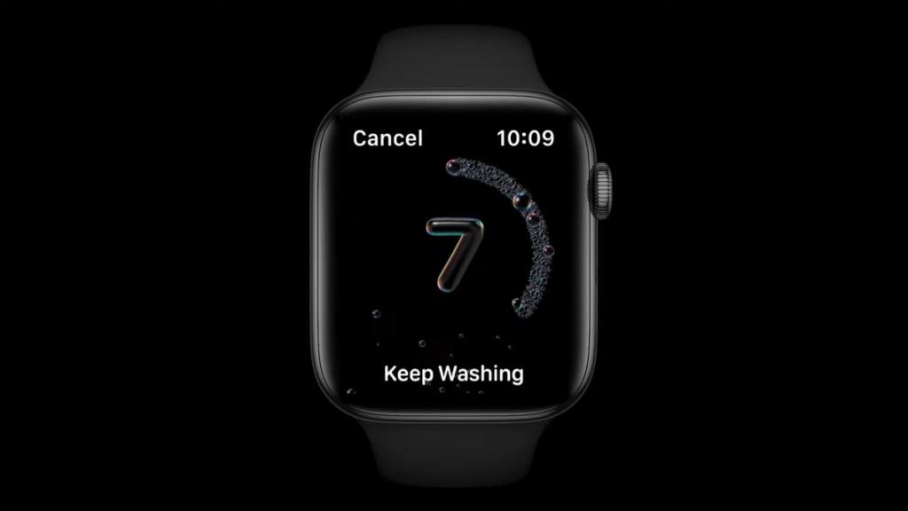 提示用戶洗手的時間是否足夠,如果還未到預定時間,系統會提示你多洗一會。