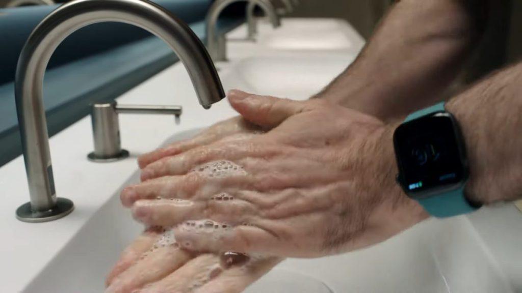 全新的洗手監測功能