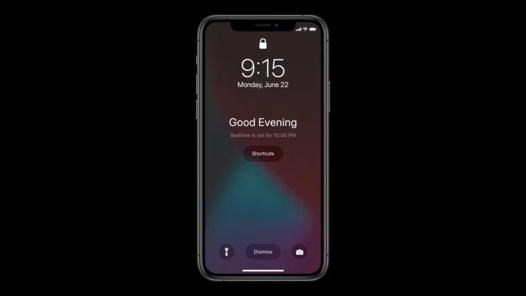 在預定的睡眠時間時,手機和腕表都會進入Sleep Mode 減少對於用戶的滋擾