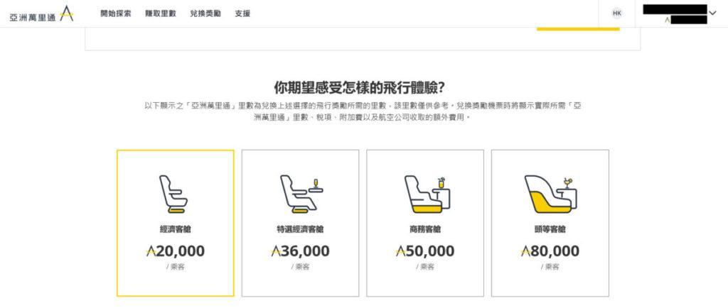以 20,000 就可以換取來回香港及東京的機票