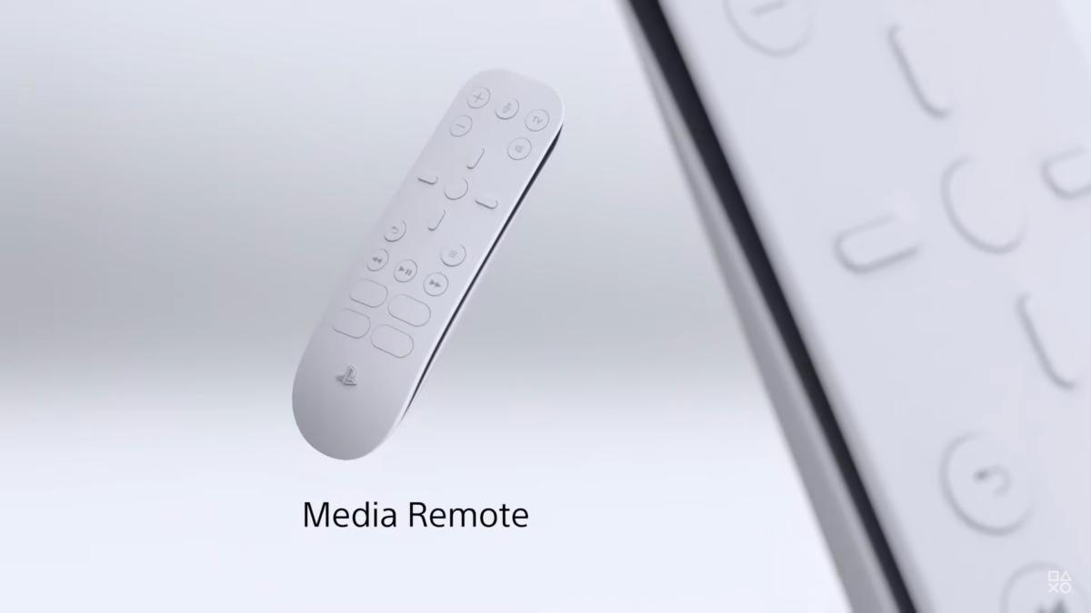 媒體遙控器 Media Remote。