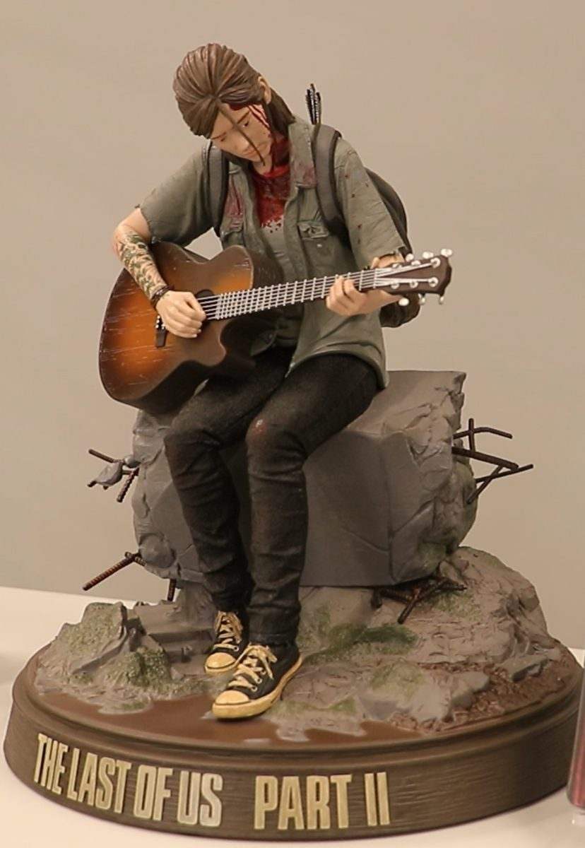 The Last of Us Part II 艾莉版内附 figure。