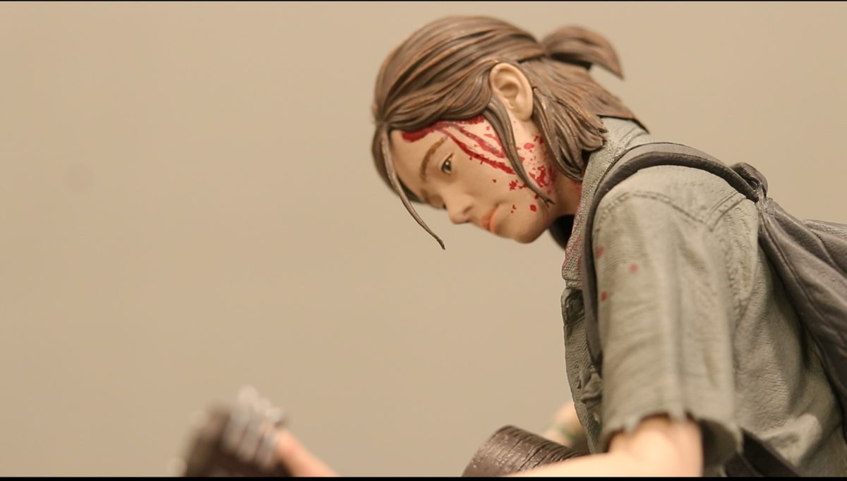 The Last of Us Part II 艾莉版内附 figure的細節的刻畫極佳。