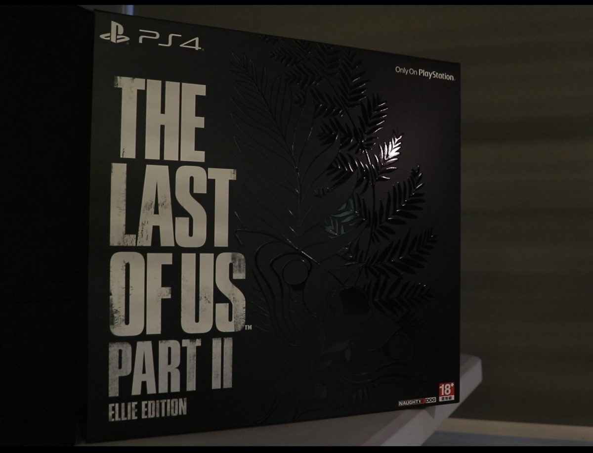 The Last of Us™ Part II艾莉版包裝盒。