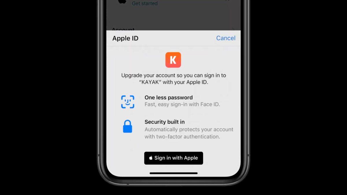 Apple 以保障用戶私隱為招徠,推出 Sign in with Apple 。