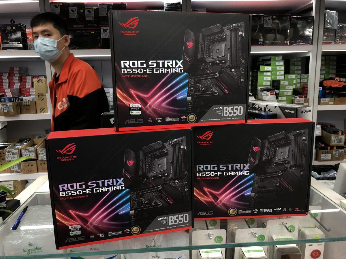 STRIX-E系列作為ASUS暫時最高階的B550,可支援NVIDIA SLI及5,100MHz RAM。
