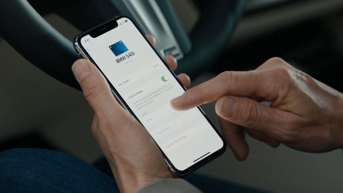分享數碼車匙時可以為對方設定 Profile 。