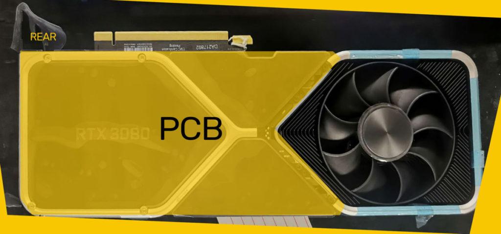 形狀如同日本鯉魚旗的 PCB