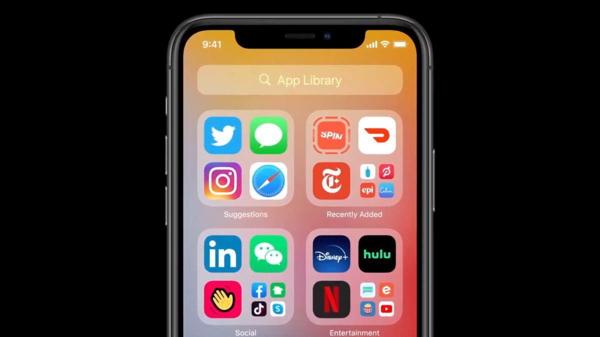 App Clips 程式雖然用完即棄,不過會在 App Library 的 Recently Added 裡留下標記,用戶有興趣可以點擊它來安裝完整程式。