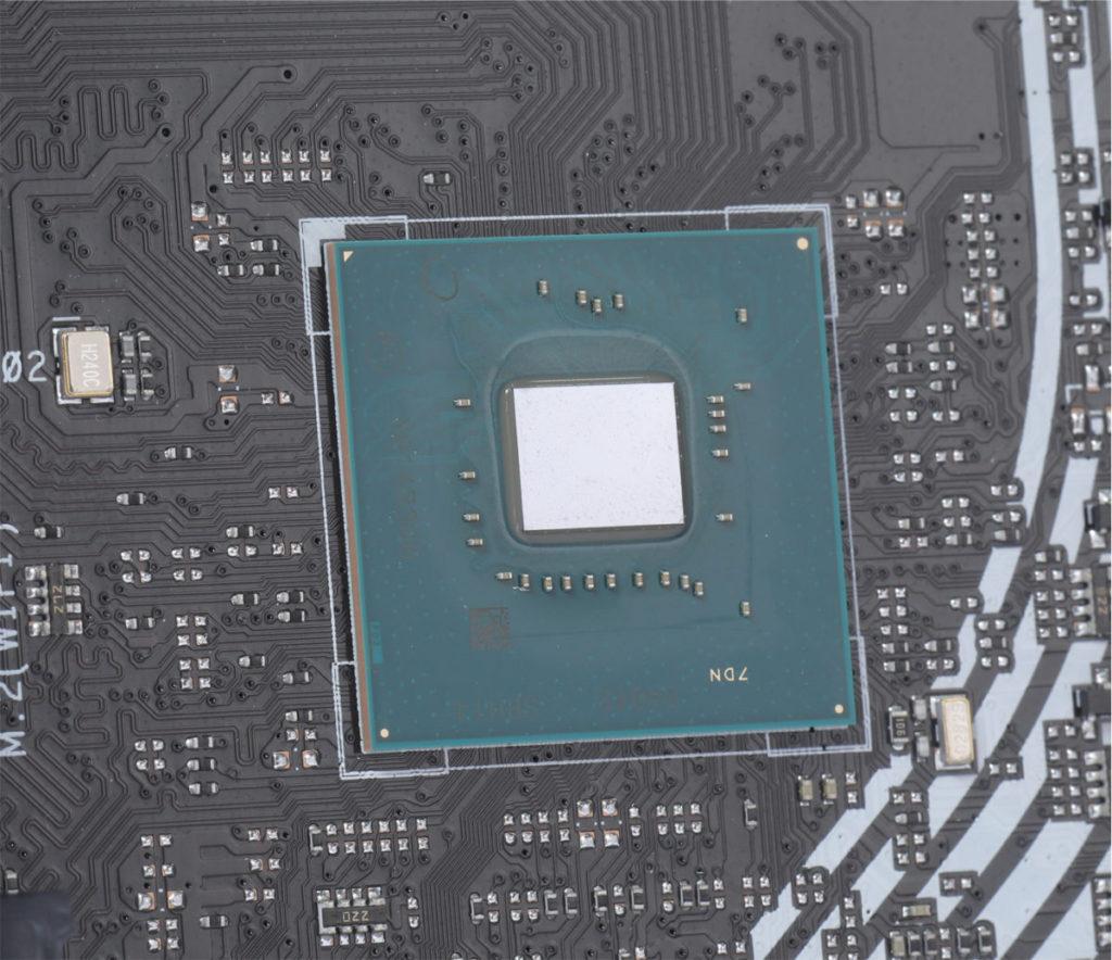 Intel H470晶片組。
