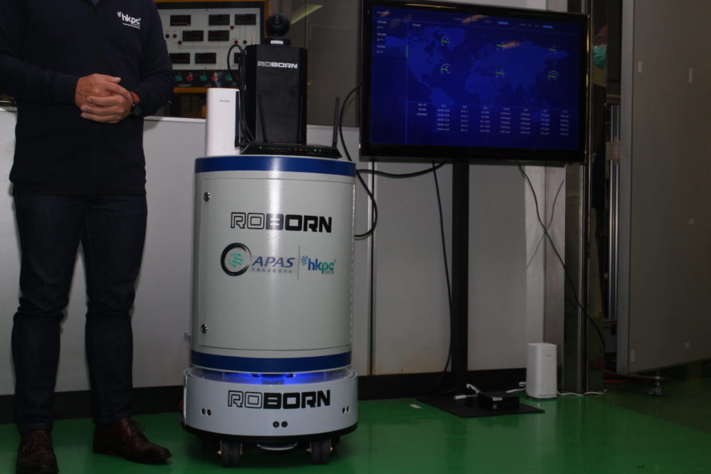 路邦的機械人將用於商場內,監察環境情況。
