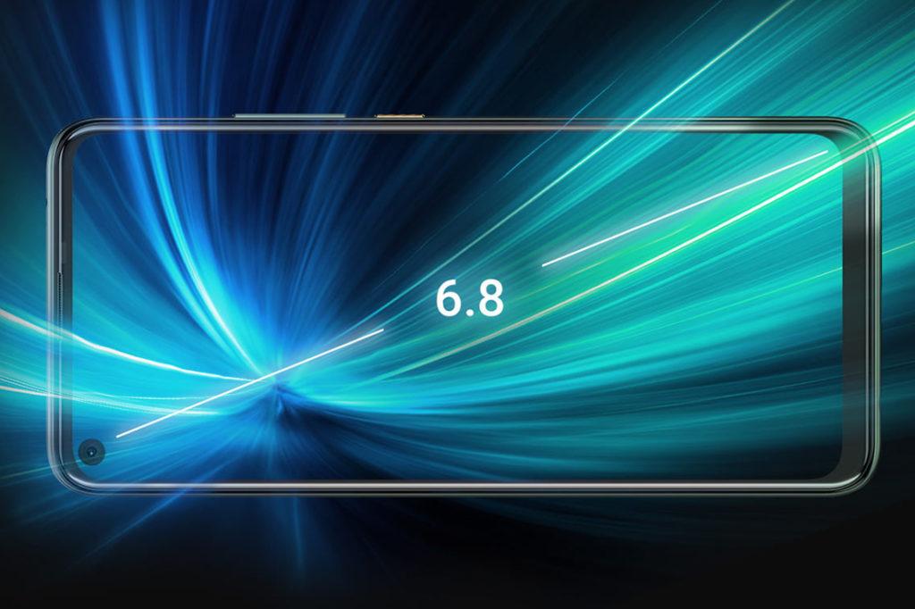 HTC U20 5G 採用 5.8 吋 FHD+ 開孔屏。