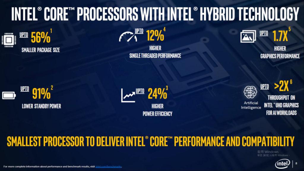新 CPU 可以節省最多 56% 核心面積,並帶來多項性能提升。