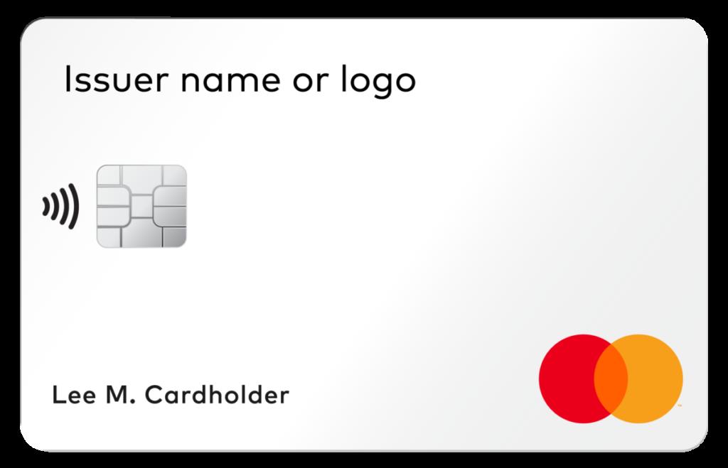 無號碼實體卡卡面上只有持卡人名稱、晶片、銀行商標和信用卡品牌商標。卡號、安全碼等資料都只能透過銀行應用程式查閱。