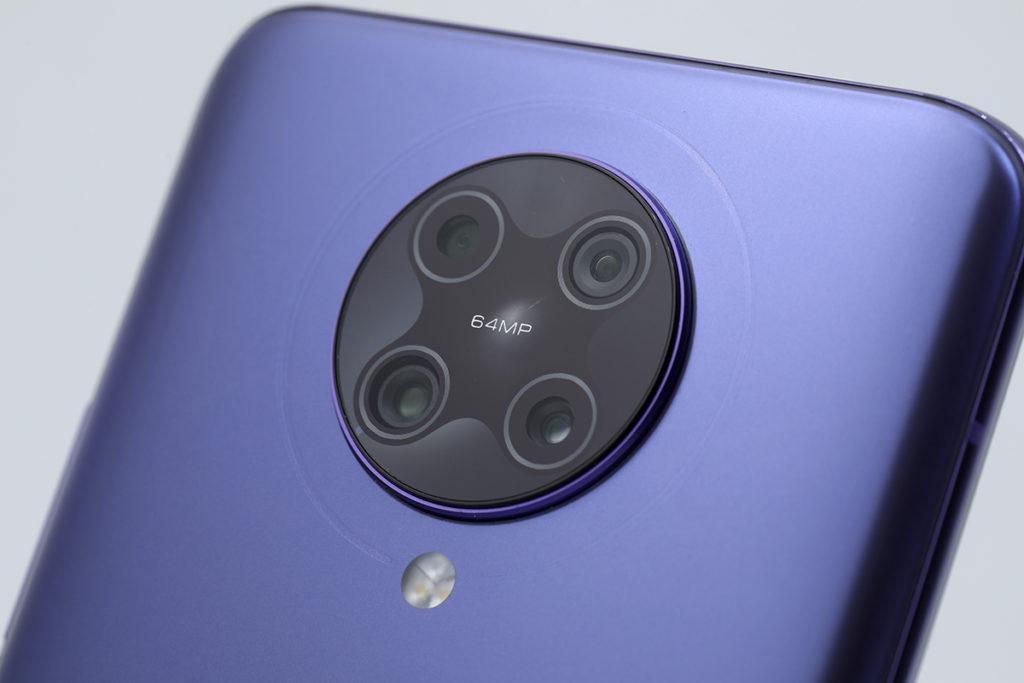雖然 POCO F2 Pro 5G 專為打機用戶而來,但同樣備有  64MP 為主鏡的四鏡頭。