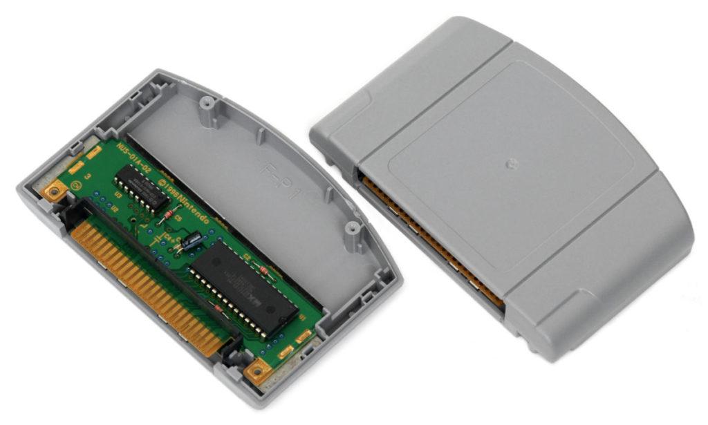 N64 遊戲卡帶最大容量只有 64MB