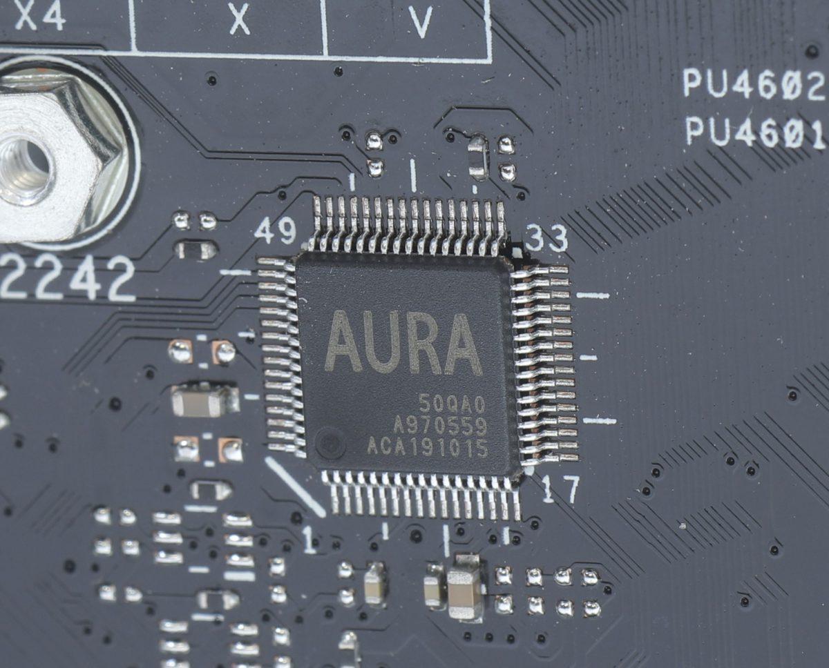 設有AURA晶片控制RGB功能。