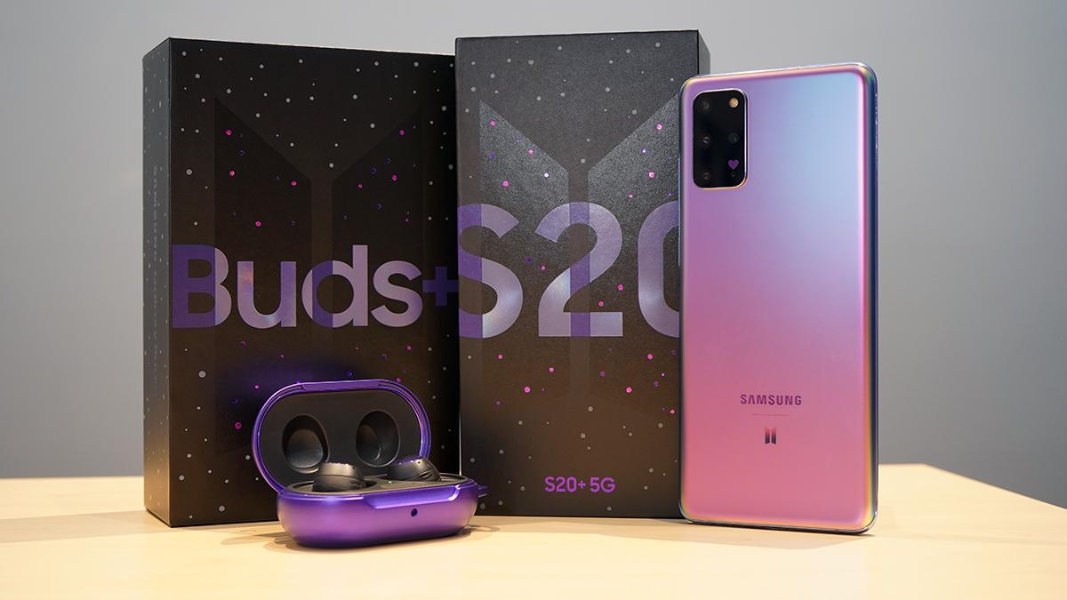 Samsung Galaxy S20+ 5G BTS Edition