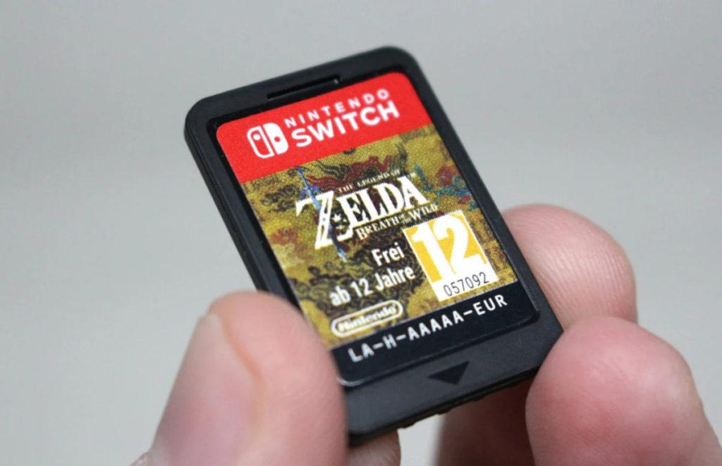nintendo switch 遊戲卡最大容量為 32GB