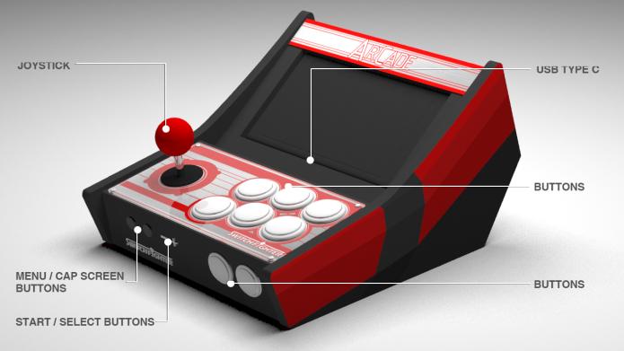 標準版本的 Switch Fighter 採用三和搖桿和按鈕,以藍牙連接 Switch 主機。
