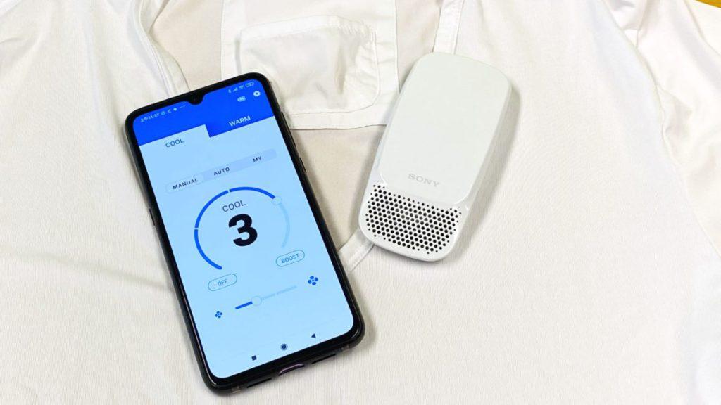 日本 Sony 研製出全新的隨身製冷/ 加熱機 Reon Pocket,解決了商務人士的面對炎炎夏日還是寒冬中外出工作的煩惱