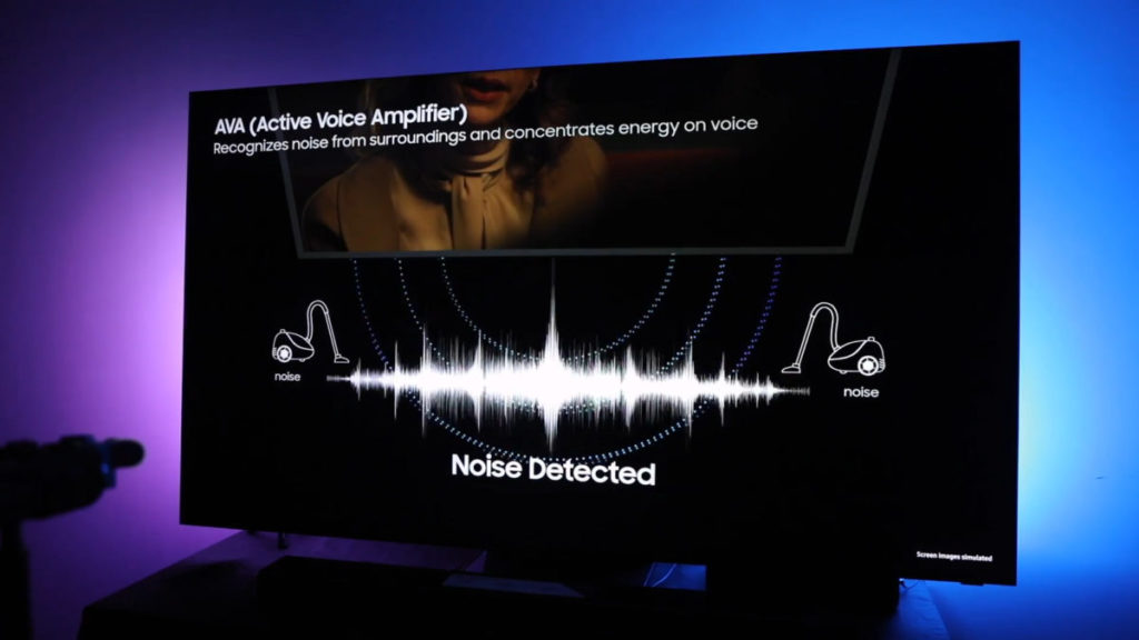 Active Voice Amplifier 主動抗噪聲功能,能根據現場周圍環境聲音調節音量
