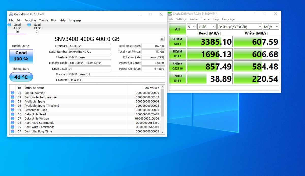 Synology SNV3400 M.2 SSD Benchmark
