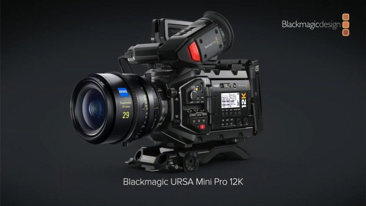 URSA mini Pro 12K 屬專業電影攝錄機