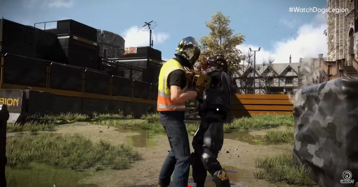 實機示範中,玩家可扮演工人進行任務。