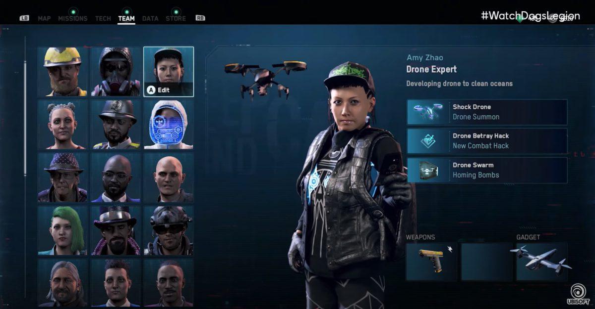 玩家轉換角色,配備獨特技能及武器,以完成任務。