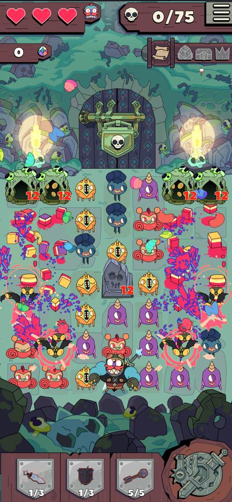 據知, Apple Arcade 的創意監製具體地提出想要一款類似《 Grindstone 》的遊戲。