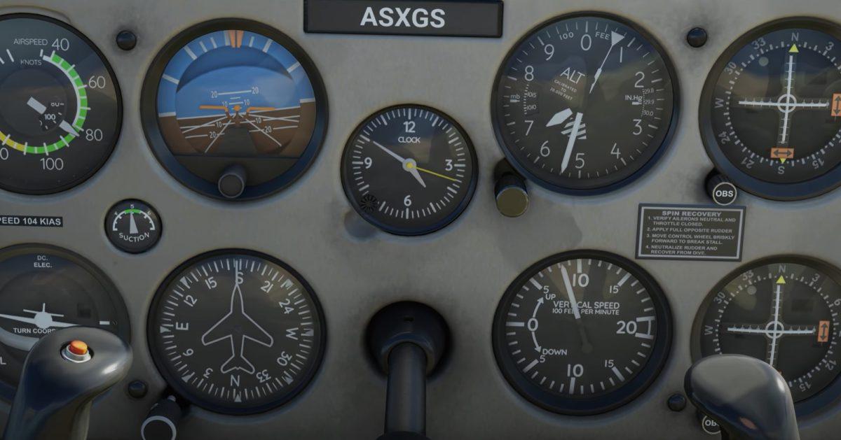 儀錶板更令玩家容易代入機師角色。