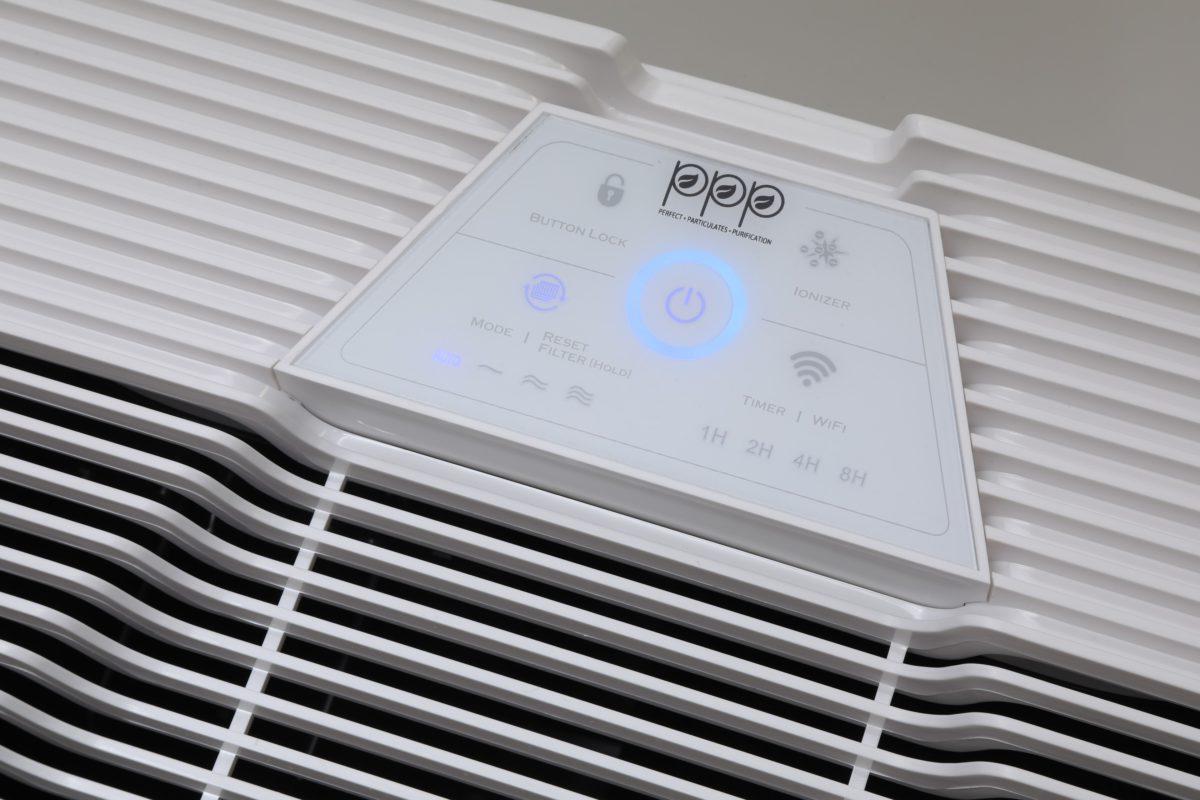 為與現有 PPP-400-01 識別,PPP-402-01 採用新設計的白色操控面板。