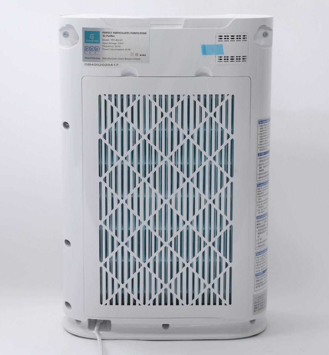特製入氣口設計,可有效減少風阻,而且整機功耗不過 45W ,是同類產品中屬較低的水平。