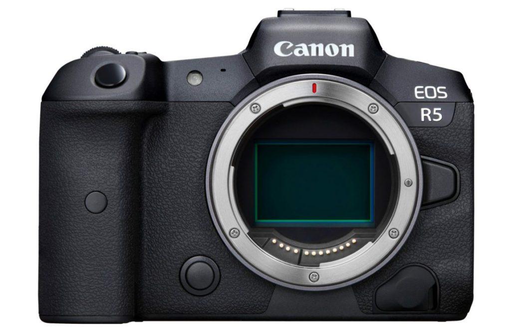 EOS R5 目前市場上首部能挑戰 8K 攝錄的相機