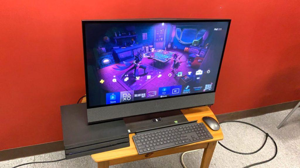 屏幕可以接駁其他影音器材使用