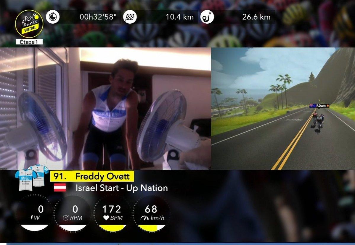 ISN 的 Freddy Ovett 奪得第 4 站冠軍,他的秘密武器竟然是在車頭加了兩把風扇幫自己散熱!