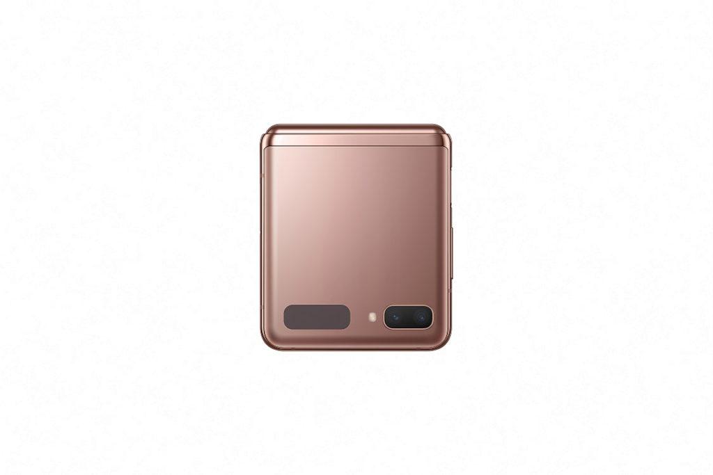 霧光銅用色的 Galaxy Z Flip 5G 相當高貴,而且可大大減少指紋問題。