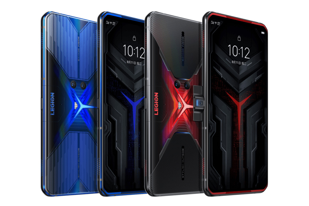 Lenovo Legion Phone Duel 備有兩種顏色可選擇,外型十分強悍。