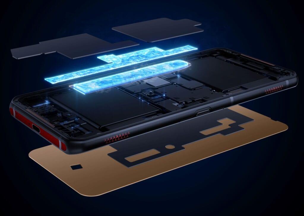 加入雙液冷(dual liquid-cooling)和銅管提升散熱效果。