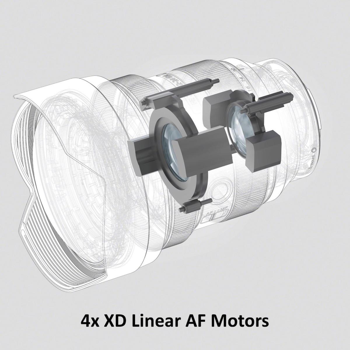 鏡頭使用內變焦筒方式,對焦使用雙線性 XD 馬達,寧靜之餘反應也快(加上廣角鏡的對焦行程比較短),相對適合作拍片用途。